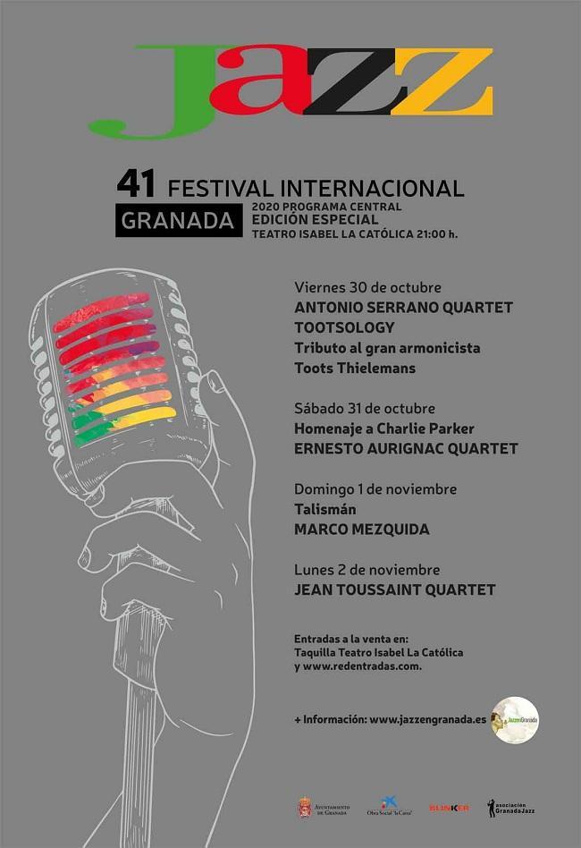 Cartel de la edición 2020 del festival.