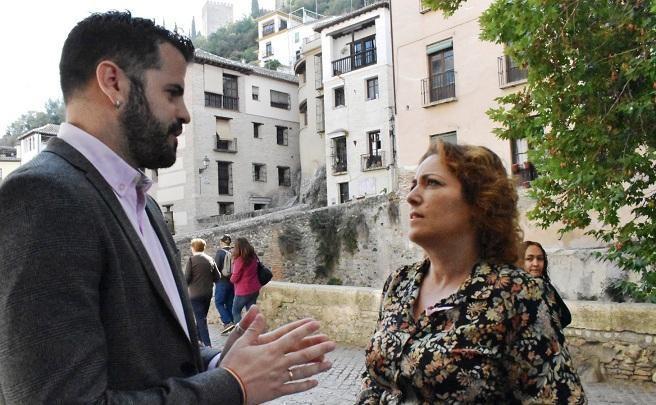 Jesús Fernández y Mari Carmen Pérez, en una imagen de archivo.