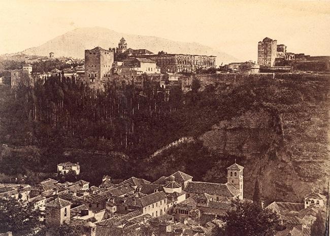 Vista de la Alhambra desde el Albaicín, de Charles Clifford.