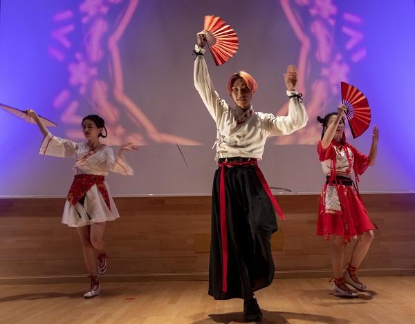 Una de las bellas representaciones de la celebración del Año Nuevo Chino.