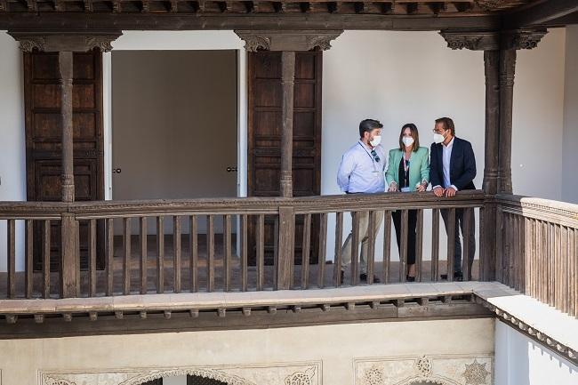De izquierda a derecha, Antonio Peral, Rocío Díaz y Antonio Granados.