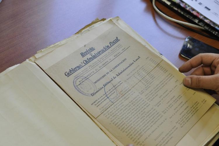 Documentos consultados por los investigadores.