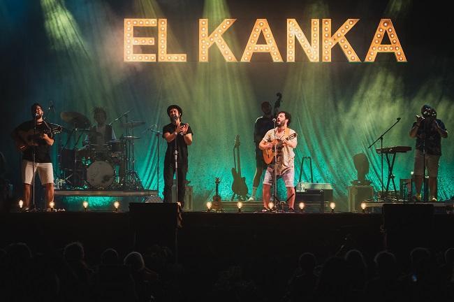 El Kanka durante el concierto en Motril en Vivo.