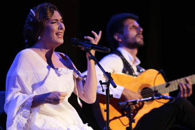 La gran Estrella Morente anoche en el Festival.