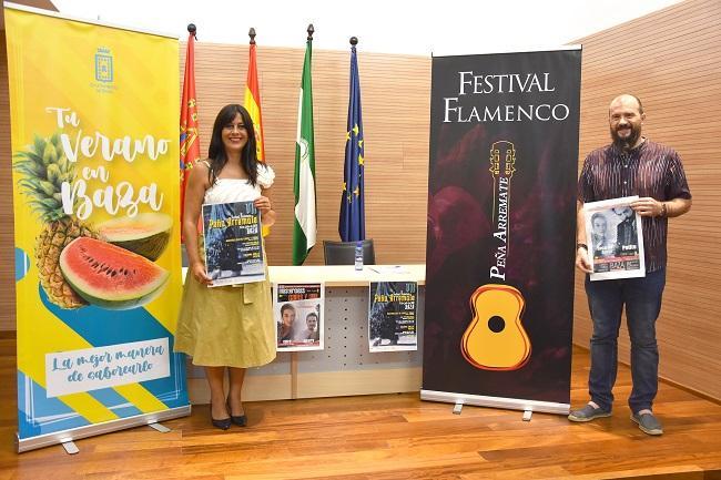 Presentación del festival de Baza.