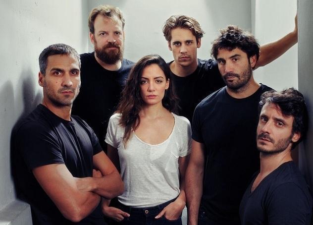 Protagonistas de la obra 'Jauría'.
