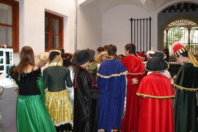 Una de las actividades en el Museo Arqueológico.