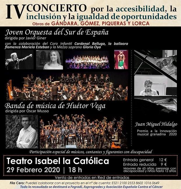 Cartel del concierto.