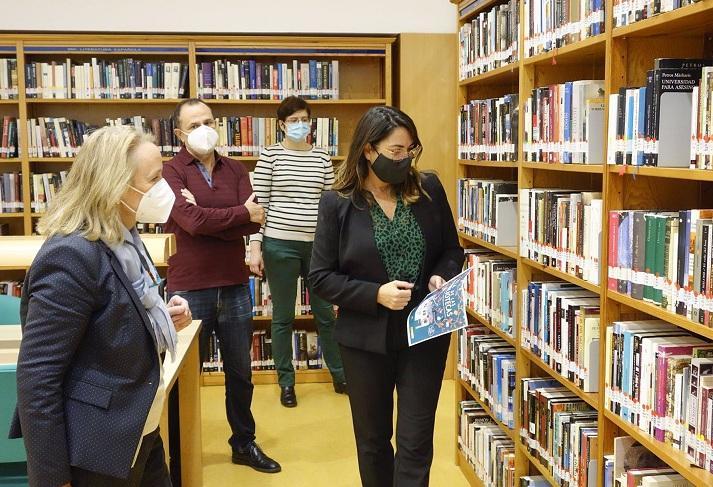 Presentación de novedades en las bibliotecas municipales.