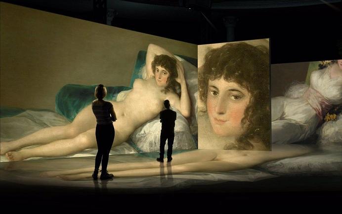 La exposición 'inmersiva' sobre Goya tendrá un aforo de 120 personas.