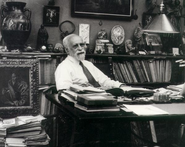 El historiador e intelectual granadino Manuel Gómez-Moreno.