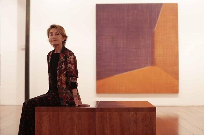 Soledad Sevilla, en una imagen de archivo, en el Centro Guerrero.