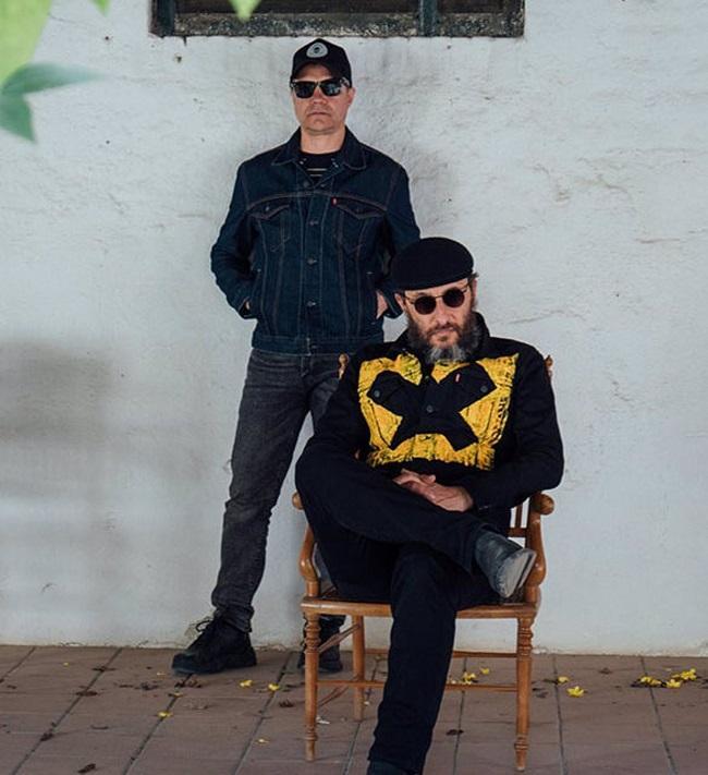 Jota y Florent, en la imagen promocional del concierto.