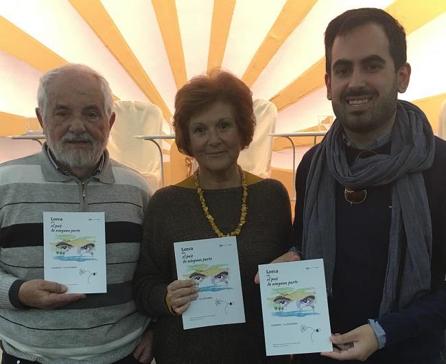 Fernando Rubio, Adoración Elvira y Raúl Ruiz.