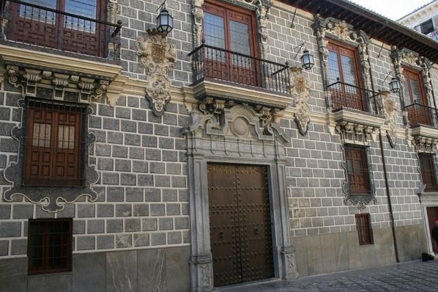 La Madraza, sede de la primera universidad que tuvo Granada.