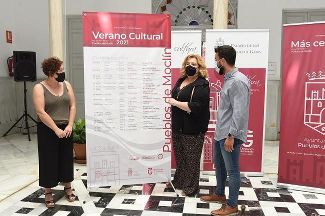 Presentación de la programación cultural.