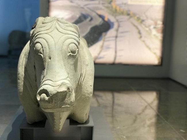 Imagen de una de las salas del Museo Arqueológico de Granada.