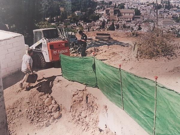 Las obras paralizadas se llevaban a cabo en el Carril de San Miguel.