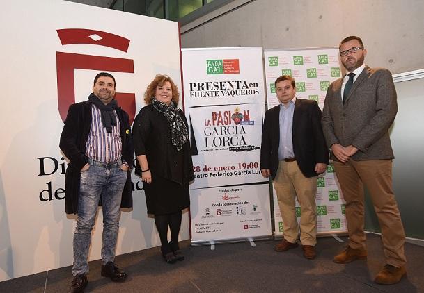 Presentación de 'La Pasión según García Lorca'.