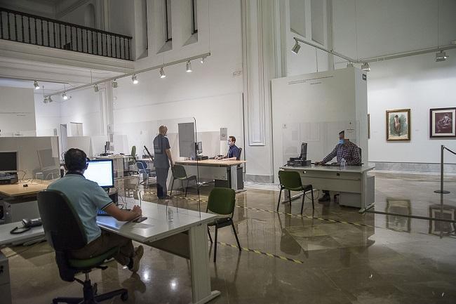 Oficinas municipales acondicionadas en el Centro Gran Capitán.