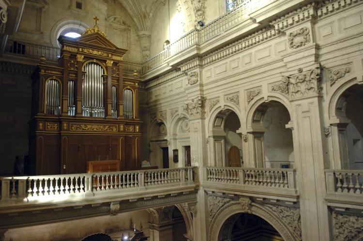 El ciclo de órganos en iglesias es toda una tradición en Granada.