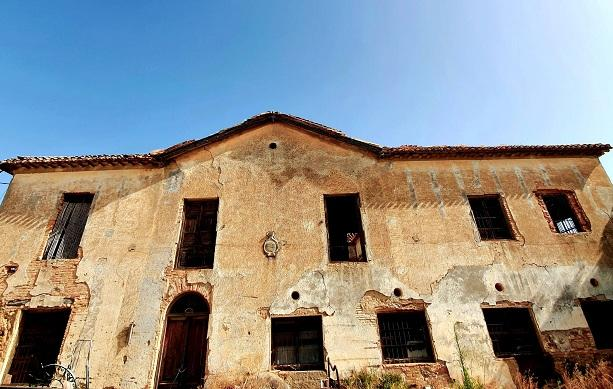 Casa del Marqués, en estado ruinoso.