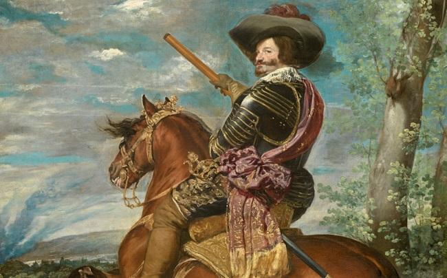 Gaspar de Guzmán, Conde-Duque de Olivares, pintado por Velázquez.