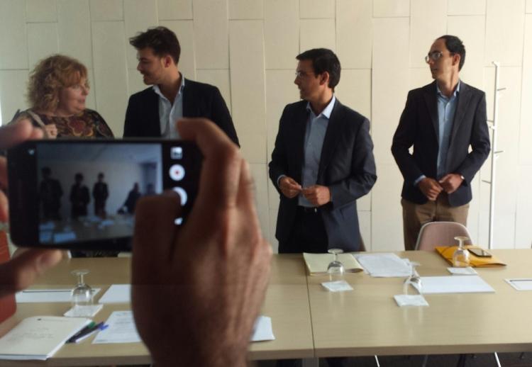 El alcalde ha presidido la reunión del Consorcio del Centro Lorca.