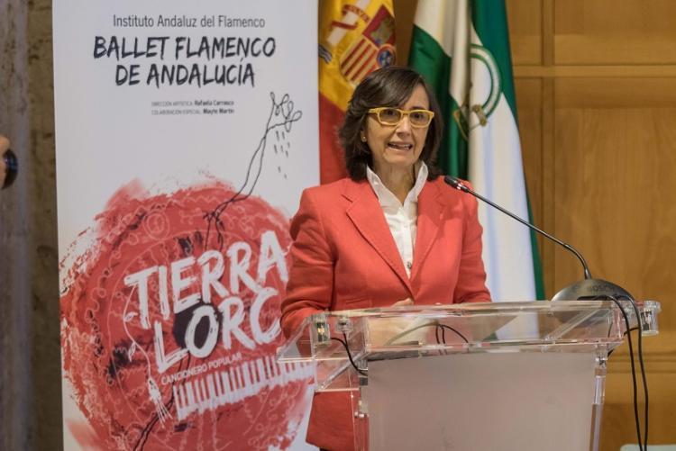 La consejera de Cultura, Rosa Aguilar.