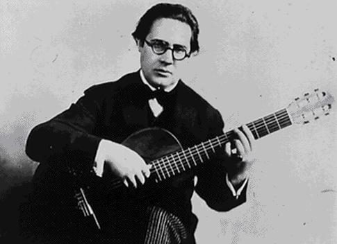 Andrés Segovia.