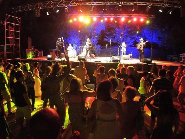 Imagen de archivo de un concierto del Parapandafolk.