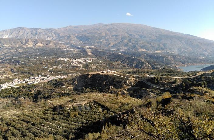 Panorámica del Valle de Lecrín.
