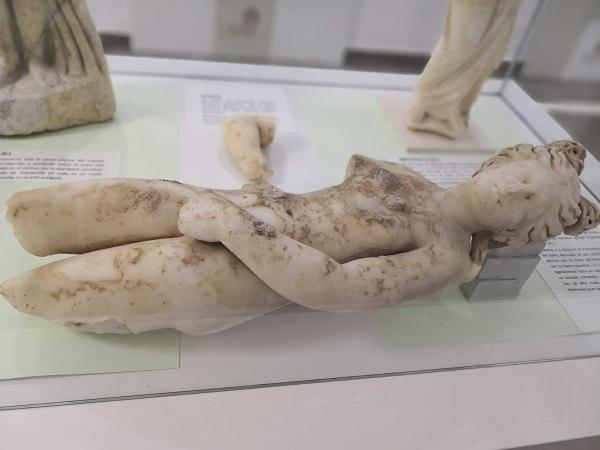 Venus encontrada en la última excavación el pasado verano.