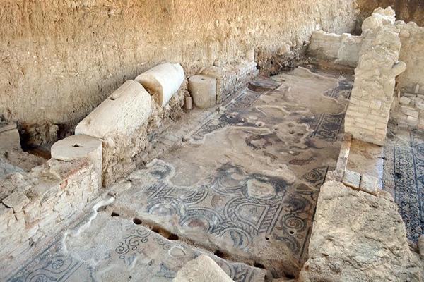 La villa era una lujosa construcción romana de gran valor artístico.