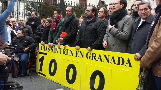 """El PSOE pide poner fin al trato """"vejatorio"""" que recibe Granada."""