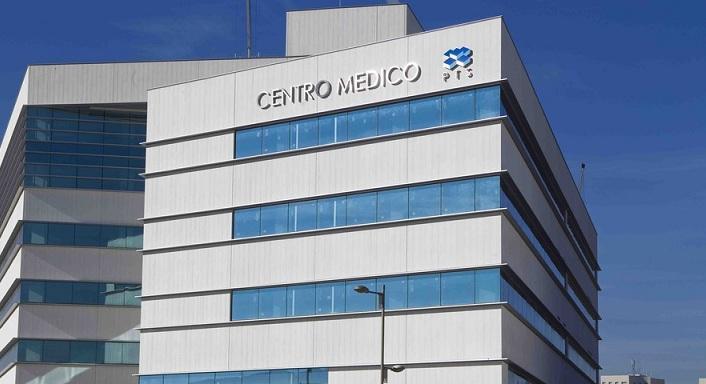 Los préstamos que tiene que devolver el PTS sirvieron para construir edificios como el Centro Médico.