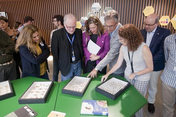 Inauguración de la Ventana a la Ciencia.