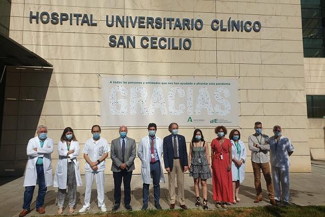 Agradecimiento a las colaboraciones del centro sanitario.