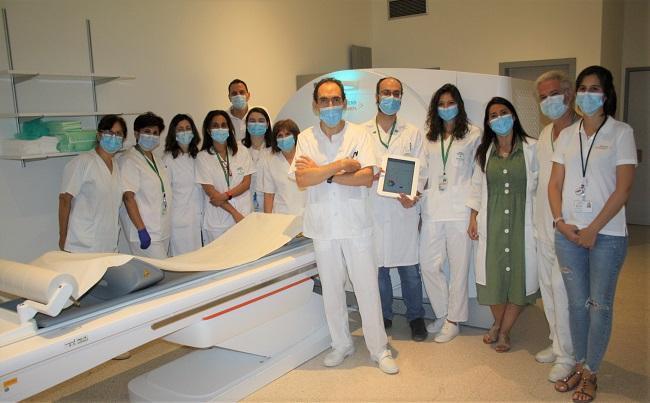 Profesionales del Servicio de Radiodiagnóstico.