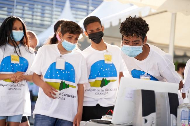 Imagen de la última Feria de la Ciencia.