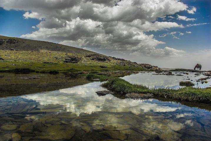 Foto ganadora del segundo premio, de la laguna Hondera.