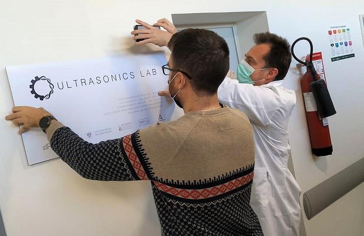El nuevo laboratorio se denomina Ultrasonics Lab.