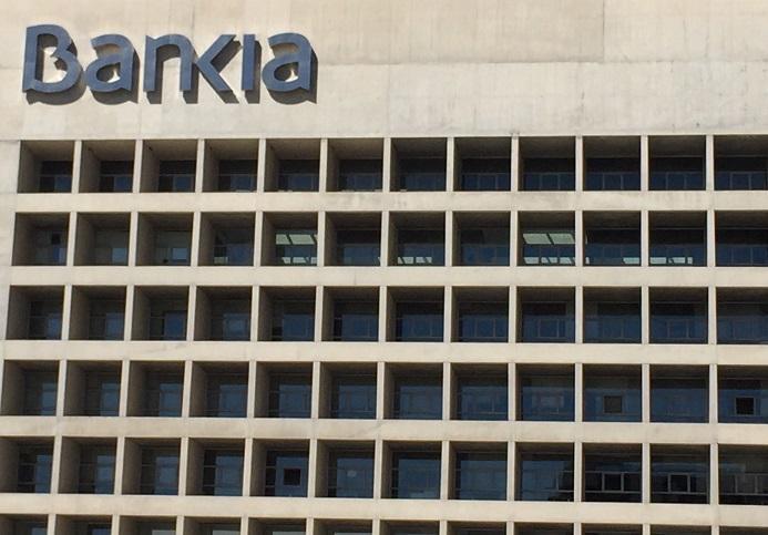 El Cubo, sede de Bankia en Granada.