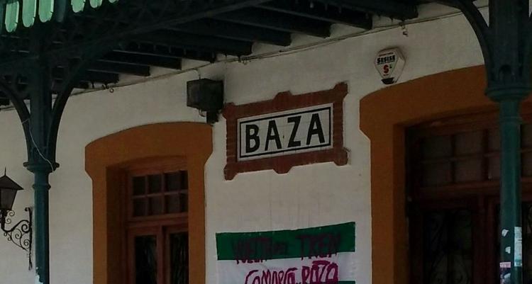 Antigua estación de tren de Baza.