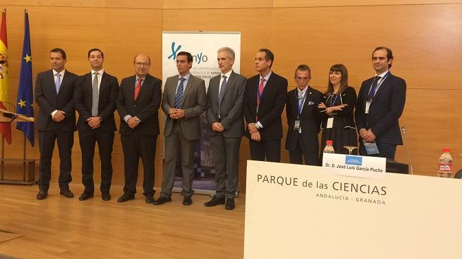 Inauguración del simposio internacional sobre biopsia líquida.