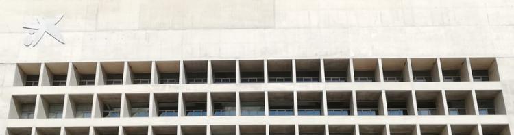 Antigua sede central de CajaGranada, luego BMN, luego Bankia, y ahora Caixabank..