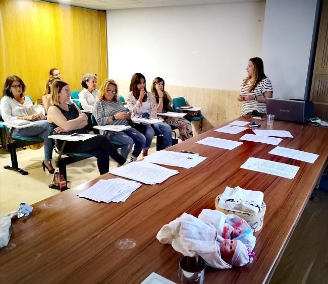 Curso organizado por el Colegio de Enfermería.