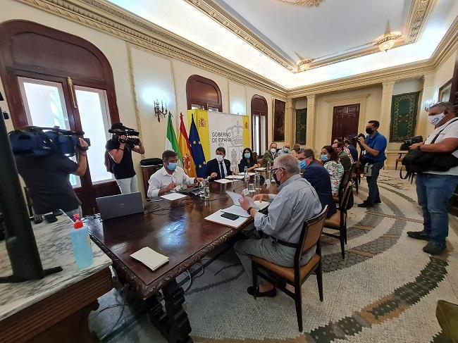 Reunión de la Comisión Mixta en la Subdelegación del Gobierno.
