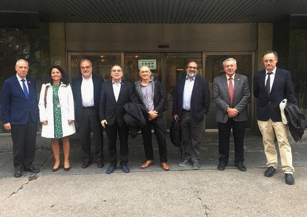 Comité de enlace del proyecto científico.