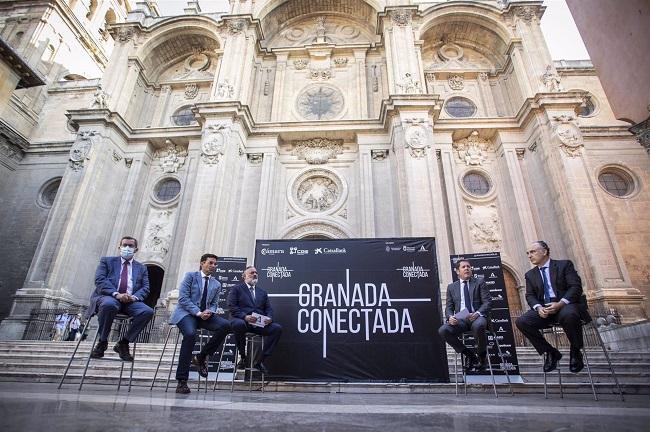 Presentación de 'Granada conectada'.